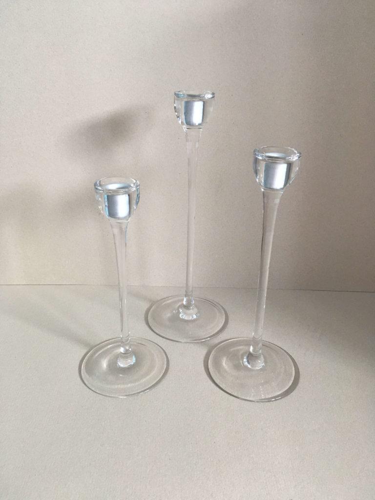 Kerzenhalter Glas