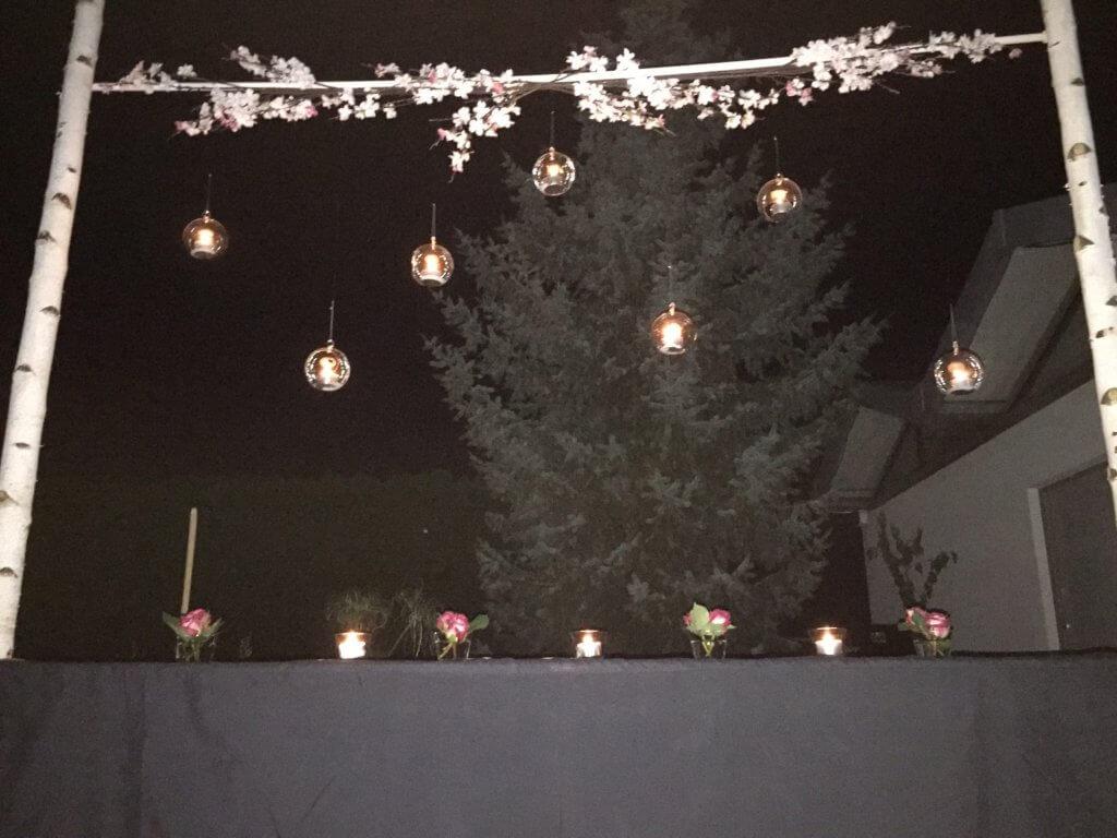 Birkenbogen Kerzen